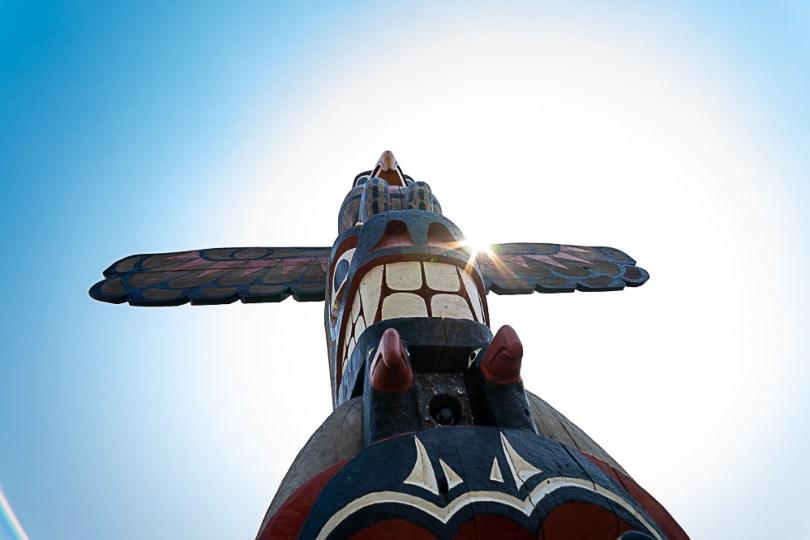 Canada-Colombie-britannique-victoria-totem-beacon-hill-park