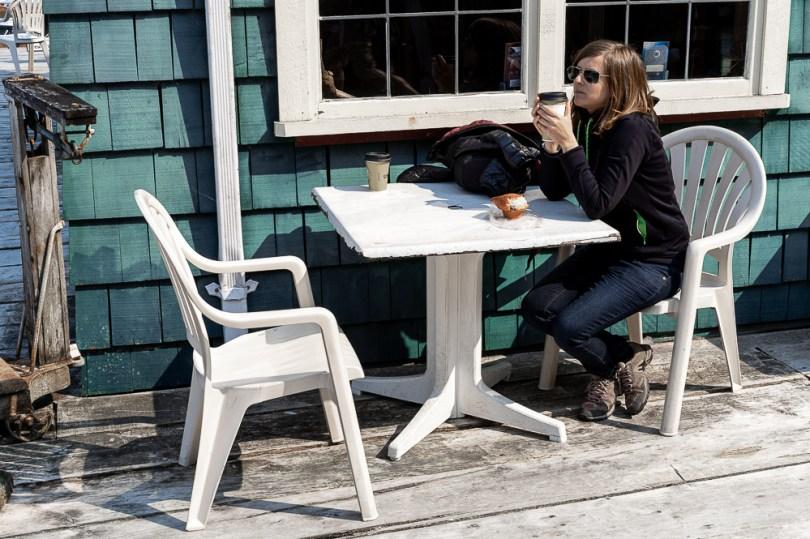 Telegraph Cove cafe