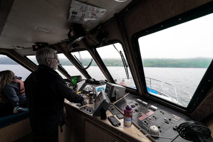 Telegraph Cove capitaine bateau