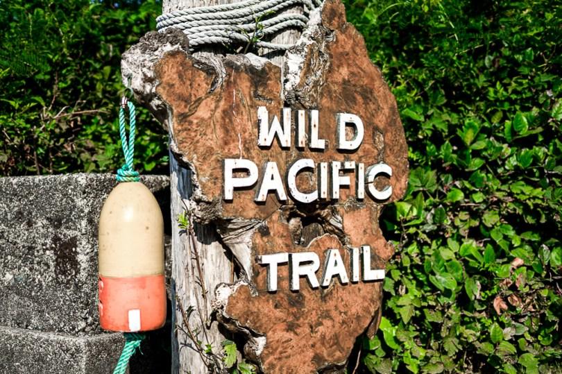 Ucluelet wild pacific trail panneau