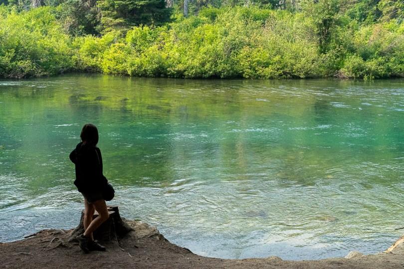 colombie britannique cheakamus lake