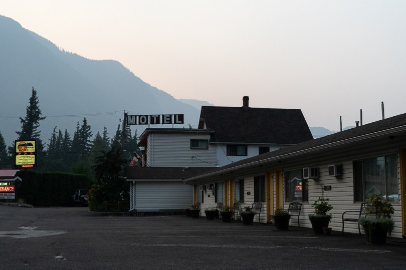 colombie britannique hope motel