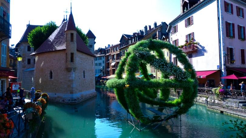 Annecy palais de l'ile oeuvre d'art