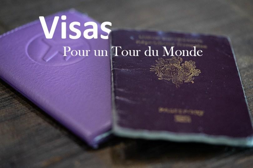 passeport visa tour du monde