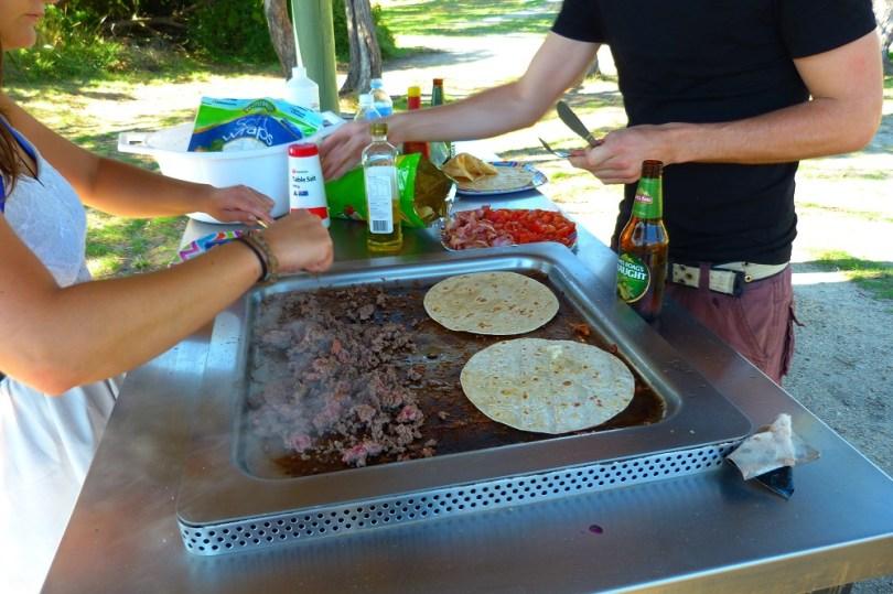 Tasmanie barbecue