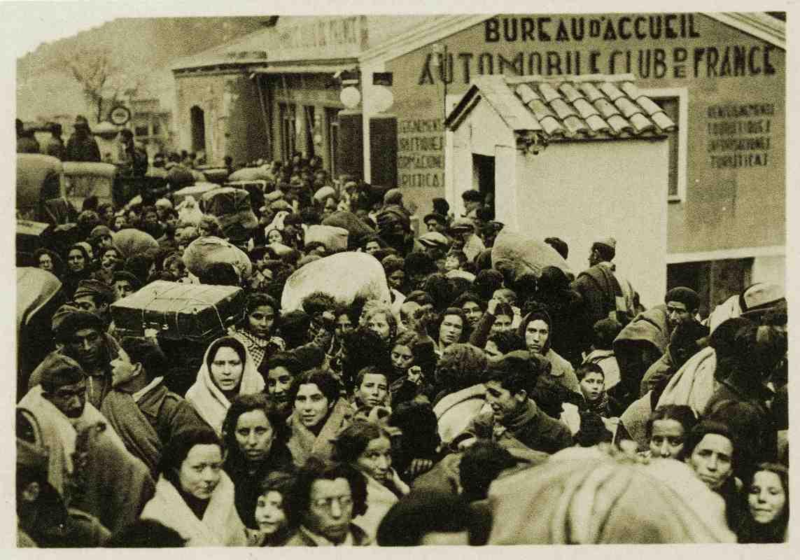Image result for cerbere refugees camp civil war
