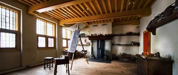 Por dentro das casas de 6 mestres da pintura