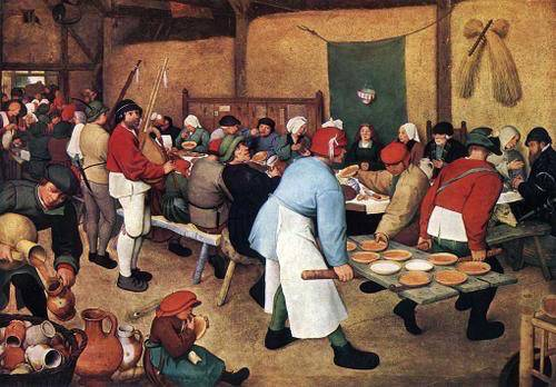 Casamento Camponês, Pieter Bruegel, o Velho