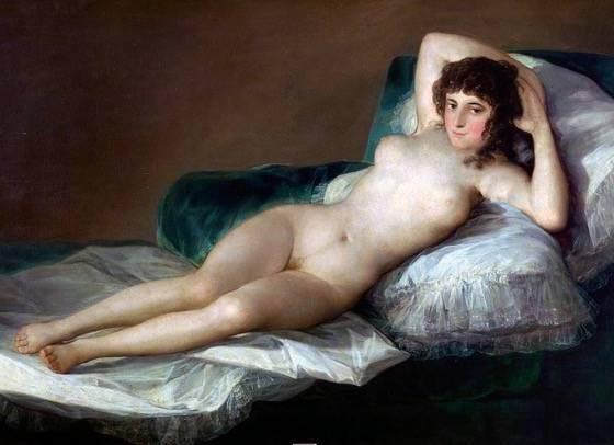 A Maja Desnuda, Francisco de Goya