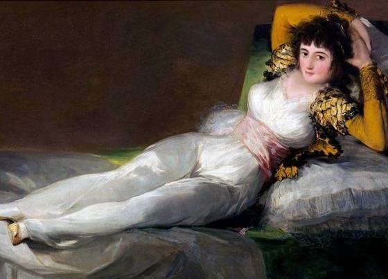 A Maja Vestida, Francisco de Goya