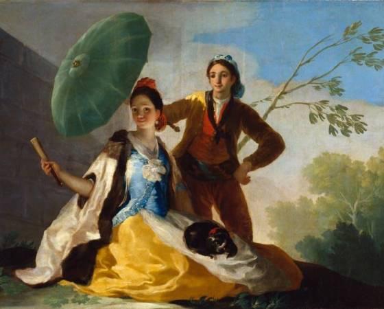 O Guarda-Sol, Francisco de Goya