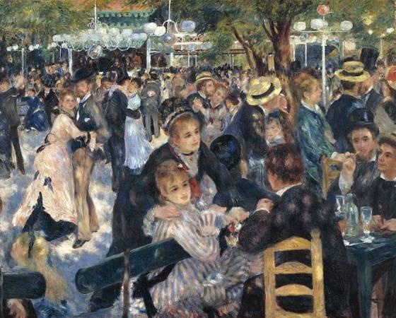 Baile no Moulin de la Galette, Renoir