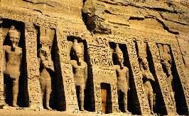 Símbolos do templo no Egito
