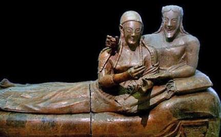 Sarcófago dos Esposos - Museu Etrusco