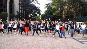 Flash Mob na cidade de São Paulo - Brasil