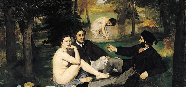 Almoço na Relva, Édouard Manet