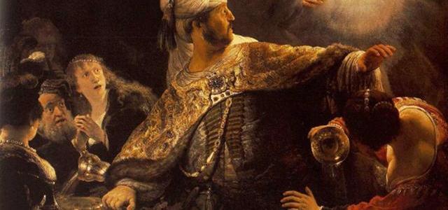 A Festa de Baltasar, Rembrandt