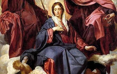 A Coroação da Virgem, Velázquez