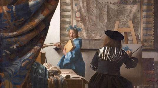 O Estúdio do Artista, Johanes Vermeer