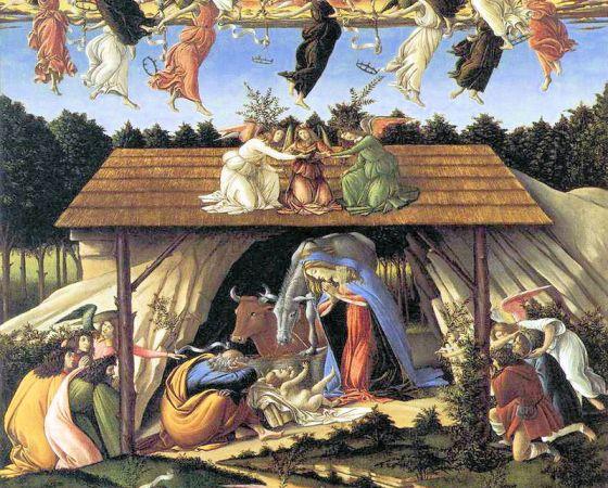 Natividade Mística, Botticelli