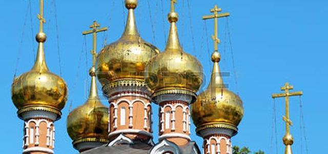 As cúpulas nas igrejas russas