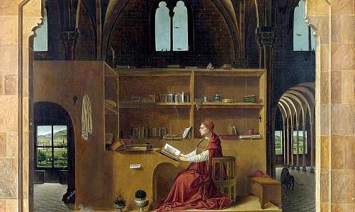 São Jerônimo em seu Gabinete, Antonello da Messina