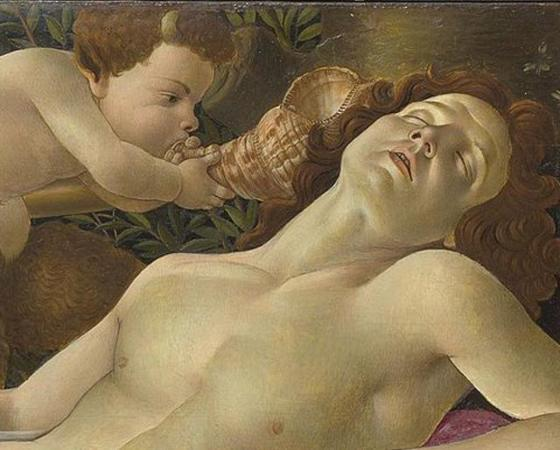 Vênus e Marte, Sandro Botticelli
