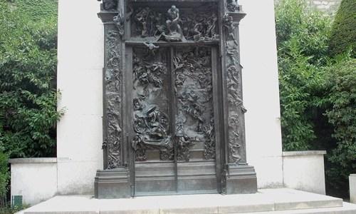 Porta do Inferno e o Pensador, Auguste Rodin