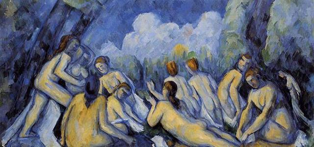 As Grandes Banhistas, Paul Cézanne