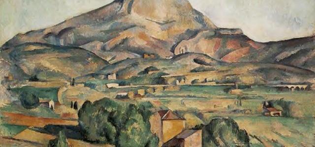 Mont Sainte-Victoire, Paul Cézanne