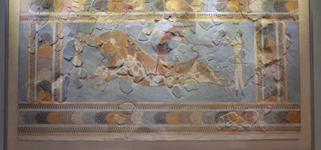 Afresco Salto no Touro, Museu Arqueológico de Heraklion