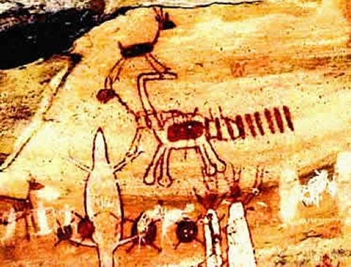 Reinterpretaçãodas pinturas rupestres