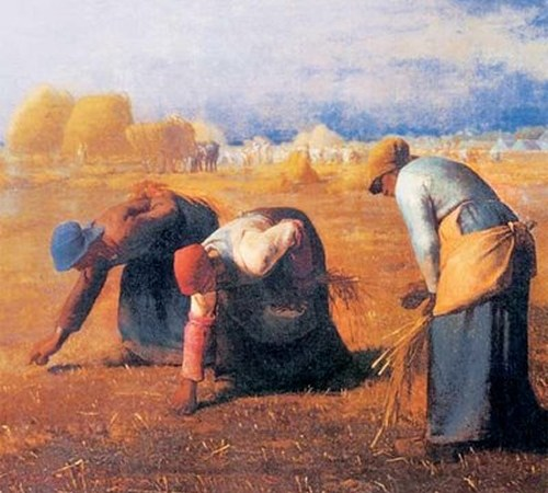 As Respingadeiras ou As Respigadoras, Jean-François Millet