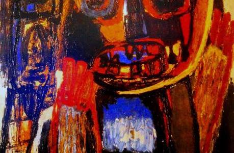 Fantasma com Máscara, Karel Appel