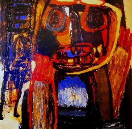 Fantasma com Máscara, Karel Appel
