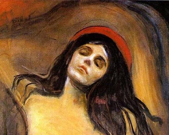 A Madona, Edvard Munch