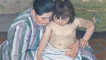 Banho de Criança, Mary Cassatt