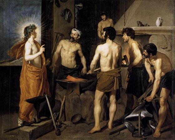 A Forja de Vulcano, Diego Velázquez