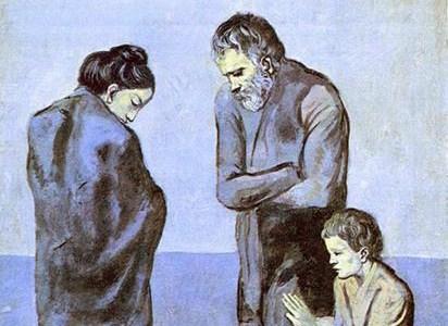 A Tragédia, Pablo Picasso