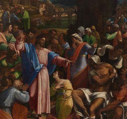 A Ressurreição de Lázaro, Sebastiano del Piombo
