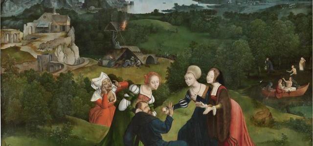 As Tentações de Santo Antão, Joachim Patinir