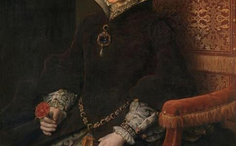Maria Tudor, Rainha da Inglaterra, Antonio Moro