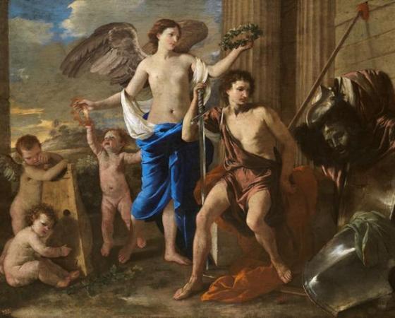 O Triunfo de David, Nicolas Poussin