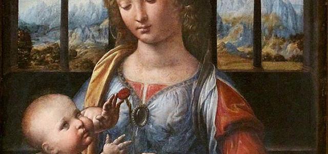 A Virgem do Cravo, Leonardo da Vinci