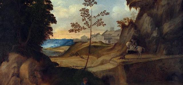 O Pôr do Sol, Giorgione