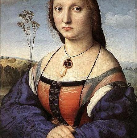 Maddalena Doni, Rafael Sanzio