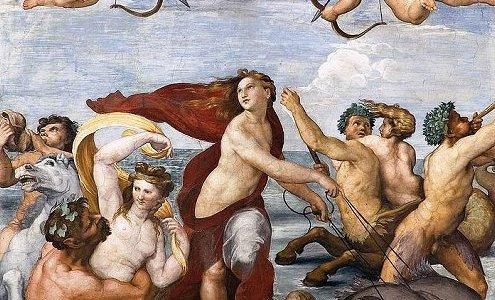 O Triunfo de Galateia, Rafael Sanzio
