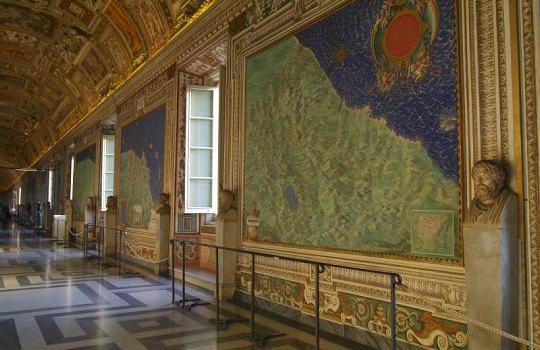 Galeria dos Mapas | Museus Vaticano