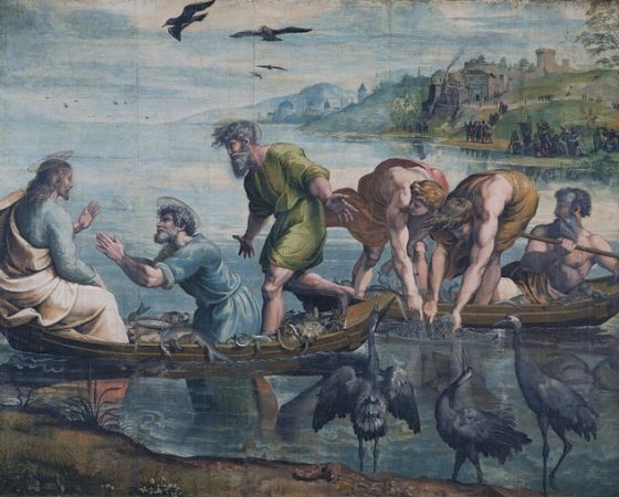 Pesca Milagrosa, Rafael Sanzio