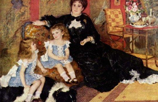 Retrato da Senhora Charpentier e seus Filhos, Renoir